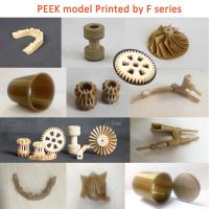 Quality High Temperature PEEK 3D Printer Single Extruder Metal Frame 3d Printer for sale