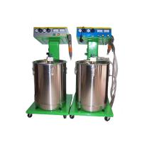 China cheap price good quality manual powder coating machine/line from China 28 years on sale
