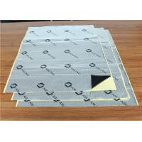 Quality Floor White Butyl Vibration Damping Pads / Anti Vibration Rubber Mat 1.5 Mm for sale