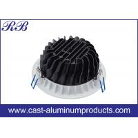 Making Mold Firstly / Round Aluminum Cast Housing High Pressure Die Casting With Powder Coating Manufactures
