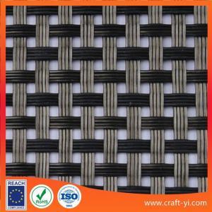 China Anti-UV waterproof woven mesh Textilene fabric solar sun lounger fabrics on sale