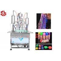 Wedding Snow Sprays / Party Strings Automatic Aerosol Filling Machine For Party Festivals Celebration Manufactures