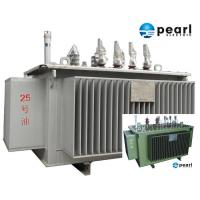 33 KV - 500 KVA Low Noise Power Transformer Low Loss ONAN / ONAF Cooling Manufactures