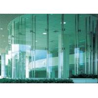 China High Visible Distortion Clear Plain Float Glass Flat Shape For Furniture / Decoration on sale