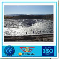 0.35 mm HDPE Geomembrane Waterproof For Solid Waste Containment Manufactures
