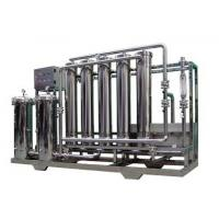 Ultra - Filtration Pure / Drinking Water Treatment Machine 1000L - 30000L/H Manufactures