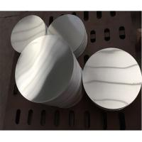 1050 1070 3003 Anodized Aluminum Discs With High Weather Resistance Manufactures