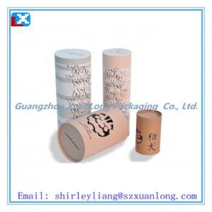 China cardboard tube packaging on sale