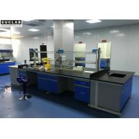 Quality Acid Alkali Resistant Laboratory Work Benches , Science Lab Benches Eco Friendly for sale