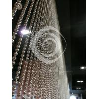 stainless steel beaded curtains/ball chain curtain wall