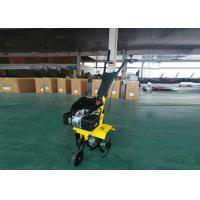 China Small Gas Powered Tiller 196cc 6.5HP Engine Hand Held Tiller Agriculture Tools on sale