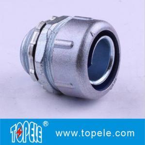 Simple Flex Connector—Zinc/Aluminum Heavy-duty Straight Liquid Tight Flexible Metal Conduit Fittings Manufactures