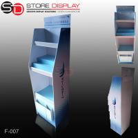 Quality PDQ floor display stand with shelves for promotion for sale
