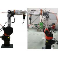 6 Axis Industrial Aumomatic Arc Welding Robot with Off line Programming Technology Manufactures