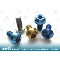 Color Anodized Titanium Fastener titanium bolts , color bolts , color washer nuts Manufactures