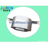 Awg16 Lead Wire Big Through Bore Slip Ring Assembly  2 ~ 24 Conductors For Display Equipment Manufactures