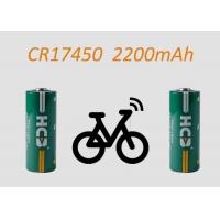Buy cheap CR17450 Lithium Manganese Dioxide Battery , 3V non-rechargeable lithium battery, from wholesalers