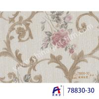Buy cheap PVC  Coating  Film  0.12-0.14mm thickness PVC Decorative Film  Red flowers from wholesalers