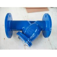 Easy installation and maintenance DN15 - DN400 Size PN16 Cast Iron DIN Y-Strainer Manufactures