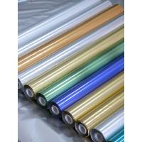 640mm Matt Gold Matt Silver Plastic Wrapping Foils Packaging For Paper Box Manufactures