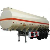 good quality 3 axle stainless steel 50cbm oil transportation tank semi trailer for sale Manufactures