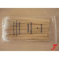 Sterile Wooden Cotton Swab, Useful at Health Care, Makeup and So on Manufactures