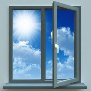 Aluminium Plastic Steel Window with Leaf Casement Window and Door Manufactures