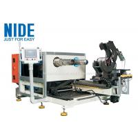 Coil Expanding And Stator Winding Inserting Machine , Two Working Stations Manufactures