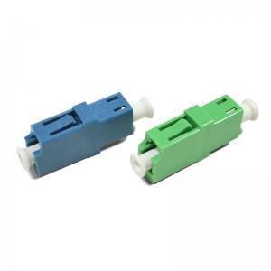 China LC-LC SM SX Singlemode Fiber Optic Adapter on sale