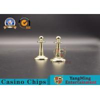 Buy cheap Casino Win Marker With Roulette Wheel Chips Game Of Copper Ball Top Dolly Can Be from wholesalers