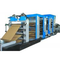 Energy Saving Cement Paper Bag Making Machine Flexo Printing High Output Manufactures