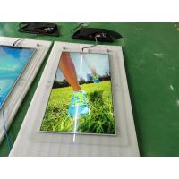 China 32  43  55  65inch ultra slim ceiling design double sided digital signage for advertising player on sale