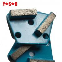 Quality Trapezoid Concrete Metal Bond Segments Grinding Scraper Pads for Concrete Floor Used for Diamatic Grinder for sale