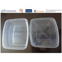 Rectangular Large Clear Plastic Storage Containers Kitchen 650ml PP Disposable Manufactures