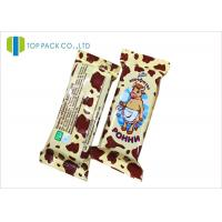 Customized Glossy Finished Snack Food Packaging Bags For Milk Chocolate Sugar Manufactures