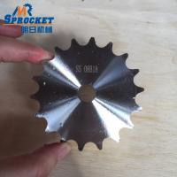 304 08B18T Stainless Steel Sprocket European Standard Nature Color Manufactures