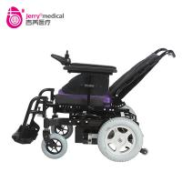 Heavy duty electric wheelchair with 32Ah battery PG VR2 control ajustable backrest Manufactures