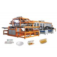 High Efficiency Fast Food Box Machine White Styrofoam Food Containers Making Manufactures