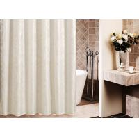 Printed Thickening Waterproof Shower Curtain , Plated Style Modern Shower Curtains Manufactures
