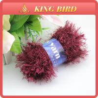 Sequin feather Fancy Knitting Yarns for knitting scarf weaving Manufactures