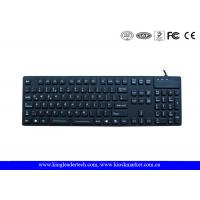 China Desk Top Waterproof Silicone Keyboard F1 - F12 Function Keys and Numeric Keys wholesale