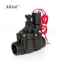 "Agriculture Garden Irrigation Solenoid Valve 1.0 Mpa For Garden 3/4"" DC Latching Manufactures"