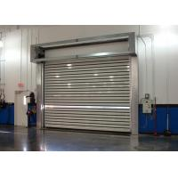 Turbline Hard Aluminum Roller Shutter Doors High Speed With 32mm Thickness Manufactures
