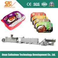 Buy cheap Single Screw Instant Rice Machine Grain Processing Equipment Special Alloy from wholesalers
