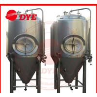 Industrial Conical Stainless Steel Fermenter Tank 2MM - 5MM Thickness Manufactures