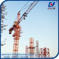 China QTZ50(5010) Cat Head Tower Crane 4tons Double Slewing For Export on sale
