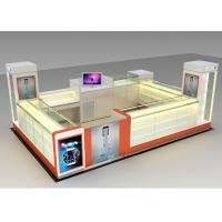 Modern Style Mobile Cell Phone Accessories Kiosk With Fully - Enclosed Structure Manufactures