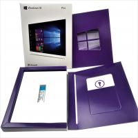 Quality 64 Bits License Key Windows 10 Pro Key Code Microsoft Retail Box Package Download for sale