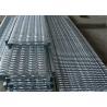 Slip Resistant Galvanized Steel Stair Treads Outdoor Ladder Q235 Steel for sale