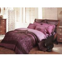 Eco-Friendly  Prited Sateen Bedding Sets , High Yarn Count Cotton Fabric Manufactures